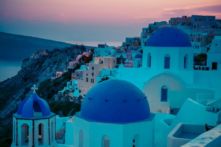 Santorini, Spots for photographers