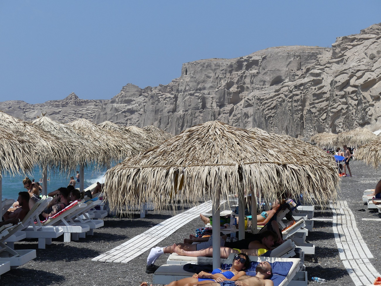 Beaches of Santorini Island